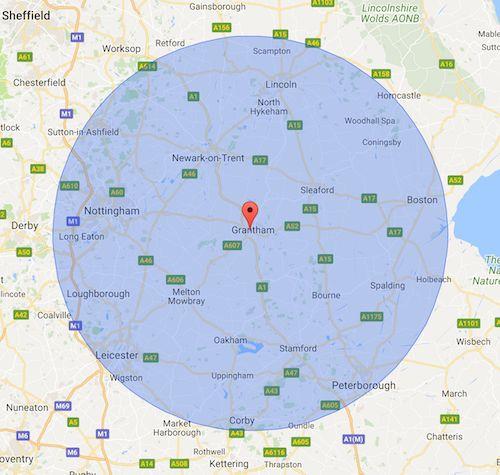 locksmith services coverage area